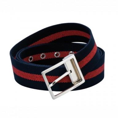 Ремень в стиле casual: сочетание ткани и состаренного серебра в винтажном стиле. длина 110 см/ширина 40 мм.